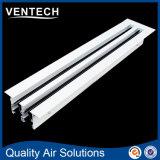 Grade de ar linear da barra, grade de alumínio do respiradouro de ar, difusor linear do ar do entalhe
