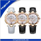 新しい服のファッション・ウォッチ様式の水晶女性の腕時計