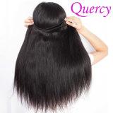 Pode ser o cabelo humano reto não processado humano tingido da classe 100 da parte superior da alta qualidade