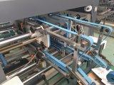 Dépliant complètement automatique Gluer quatre et machine faisante le coin de bas du blocage six
