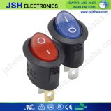 3-pines Blue Green Yellow Red LED DOWRY Because Truck Rocker ON/OFF Toggle Switch