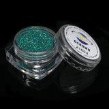 Порошок 21603 яркиев блесков Mac сини Hologram зеленый