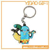 Beau trousseau de clés animal fait sur commande de PVC de type à vendre (YB-SM-16)