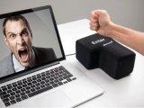 2 creativi in 1 USB chiave del cuscino del pelo dell'ufficio degli strumenti dello sfiato di distensione della tensione grande entrano nel tasto