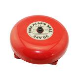 Sonnettes d'alarme accessibles d'incendie rouge de sonnette d'alarme en métal d'incendie