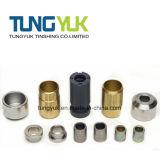 Boccole fatte dei pezzi meccanici di giro di CNC