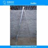 De aluminium Omgekeerde Stap die van de Driehoek de Agronomische Ladder van het Metaal voor Graden lassen