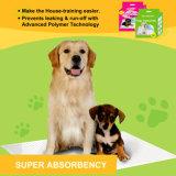 60cm*60cm de Hond van het Huisdier van de Controle van de Geur van 50 Tellingen PLASSEN Heel kleine Stootkussens