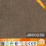 Telha de linho vitrificada rústica do projeto 600X600mm do revestimento da porcelana (JB6021D)