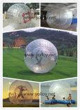 Inflatable Zorb Balle de rebond de bouclier