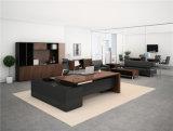 L 모양 현대 간단한 사무실 목제 가구 Excutive 사무실 책상