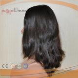 Parrucca delle donne della parte superiore della pelle dei capelli del Virgin (PPG-l-01665)