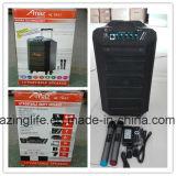 Haut-parleur portatif de chariot à hayon de Bluetooth