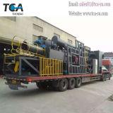 Máquina de granallado de transportadores de rodillos