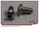 ISO7380ステンレス鋼304の316十六進ソケットボタンヘッド小ネジM5X8へのM5X50
