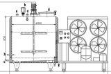 Refroidisseur 500L 1000L 2000L de lait cru de mémoire d'acier inoxydable