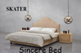 Sk15 미국식 침실 직물 침대