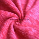 陽イオンの印刷の効果のマイクロ羊毛、ジャケットファブリック(サケ)
