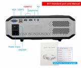 Yi-817 LED voller HD 1080P Projektor 3200 Lumen intelligentes WiFi Projektor HDMI Fernsehapparat-Heimkino Beamer USB-Projetor