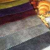 Sofá de poliésteres Tingidos de veludo de rolo de tecido Jacquard