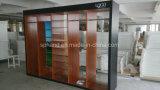 Стены кабинета и мебель для одежды и обуви и аксессуаров