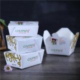 Вынос одноразовых бумаги контейнер для продуктов питания