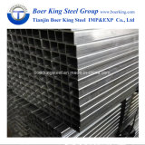 Tubo d'acciaio rettangolare quadrato galvanizzato tuffato caldo del tubo d'acciaio/tubi d'acciaio galvanizzati TUFFO caldo a Tianjin