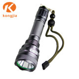 Venda por grosso ultra brilhante de luz de emergência lanterna LED de alumínio recarregável