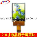 2,8 pulgadas de 240*320 puntos, TFT LCD Teléfono móvil sin RTP