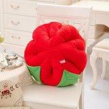 Romantische Rosen-Blumen-geformtes Plüsch-Kissen