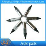 Aletta di giro del sintonizzatore estesa alluminio appuntito di CNC Nuts