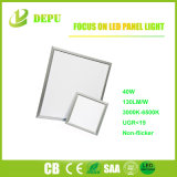 40W ultradelgadas 9mm 600x600 Square Panel LED LUZ