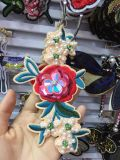 Заплата насекомого кристаллов, заплата вышивки, Applique цветка, заплата пчелы ткани, Applique для одежды, заплаты птицы для курток