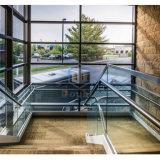 Balcon d'accueil personnelle clôture balustrade de verre aluminium