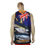 제조자 도매 새로운 디자인 건조한 적합 어업 Jerseys (F017)