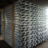 Piattaforma di alluminio della fabbrica per l'armatura