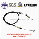 Cable de control de OEM con el ojal y muelle