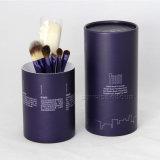ギフトの化粧品のために包む環境に優しい円形の明白なボール紙の包装の缶