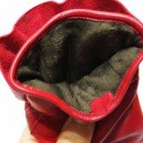 Far-infrared Heizungs-echte lederne Handschuhe für Weibchen im Winter