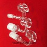 Tubo di cristallo fuso trasparente del quarzo del Banger del quarzo di Baibo per fumare