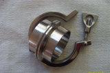 Abrazadera de la abrazadera de la virola del tubo de la abrazadera de tubo de acero inoxidable tri