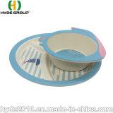 Non-Toxic Composable пищевой категории детей пластину биоразлагаемых бамбуковые волокна малыша пластину