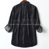Shirt de la alineada clásica de la alta calidad y de señora simple