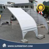 كبير اجتماع جعل فسطاط مع منحنى شكل جانبا خيمة ممتازة