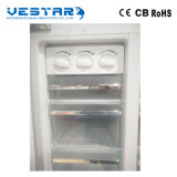Réfrigérateur commercial de cuisine verticale d'acier inoxydable fait de la bonne qualité de la Chine