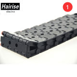 Cinghia modulare di plastica di Hairise 5935 con il foro
