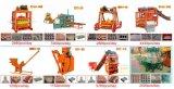 Macchina per fabbricare i mattoni semiautomatica di Qtj4-40b vendita calda nel cantone giusto