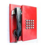 Teléfono a prueba de mal tiempo con los teléfonos de la prevención de la seguridad del microteléfono Knzd-31