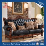 fait sur mesure Ruifuxiang N235e luxe Antique canapé en cuir véritable