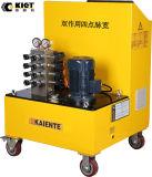Kiet PLC-Doppelt-verantwortliches Impulsbreiten-Steuersynchrone anhebende Hydraulikanlage